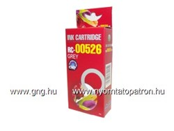 Canon CLI-526 GY (with chip) Tintapatron Komp. RED