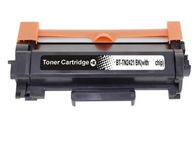 Brother TN-2421 / TN2421 chip Fekete Toner kompatibilis Új