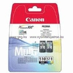 Canon PG 510 / CL 511 EREDETI tintapatron csomag (Multipack)