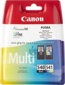 Canon PG-540 / CL-541 EREDETI tintapatron csomag (Multipack)
